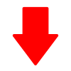 Free Red Down Arrow Vector Icon