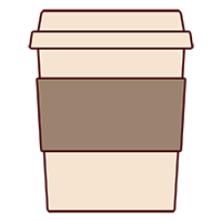 Free Coffee Cup Vector Icon