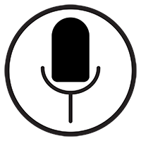 Free Microphone Vector Icon