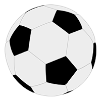 Free Soccer Ball Vector Icon